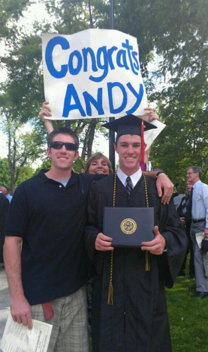 Congrats Andy Graduation
